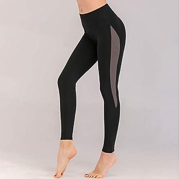 lflch6 Pantalones de Yoga de Aumento de Cintura Alta Mujeres ...