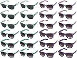 420 WEED SUNGLASSES. Classic Retro Wayfarer Style Pot Leaf Sunglasses Bulk Pack. Perfect for Festivals, Party Sunglasses, Bachelor Party, Bachelorette Party (24 Pack)