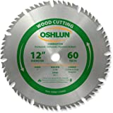 Oshlun SBW-120060 12-Inch 60 Tooth 4 and 1