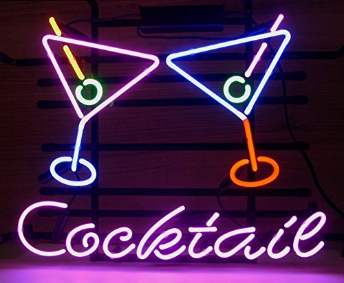 iecool Cocktail Martini Neon Sign 17