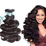 Brazilian Virgin Hair Body Wave Bundles 12 14 16Inch Lakihair Human Hair bundle
