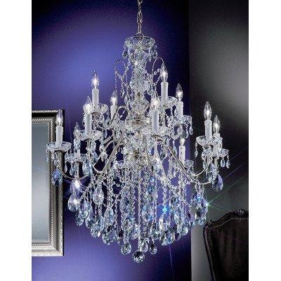 Classic Lighting 8399 CH SC Daniele, Crystal, Chandelier, Chrome ()