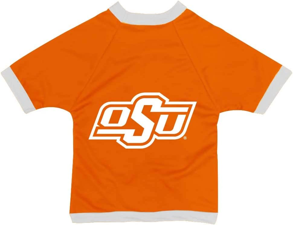 XX-Small NCAA Oklahoma State Cowboys Collegiate Athletic Mesh Dog Jersey