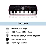 Casio SA78 Mini Portable Keyboard+Adapter With Free Ninja Hattori Stationery Box