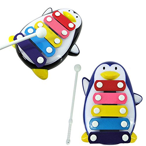 Baby Penguin 5-Note Xylophone Musical Toy Wisdom Clever Smart Development