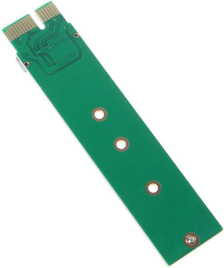 Jiamins Simple Durable PCI-E 3.0 1x auf M-Key M.2 NVME AHCI SSD Adapter Karte f/ür XP941 SM951 PM951