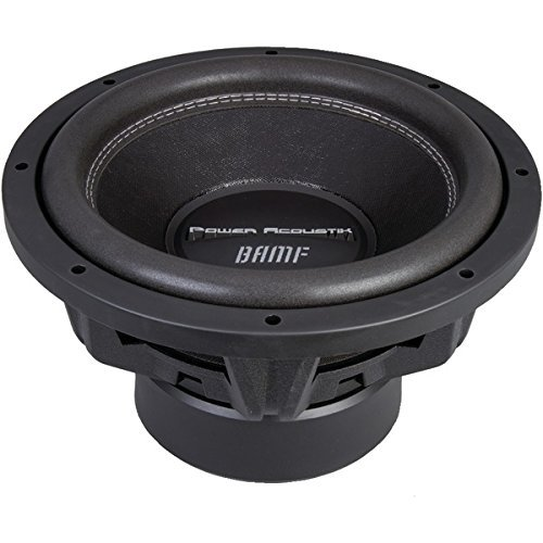 POWER ACOUSTIK BAMF-122 BAMF Series Dual 2ohm Subwoofer
