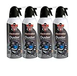 5 X Dust-Off Compressed Gas Duster - 4 Pack - DPSXL4