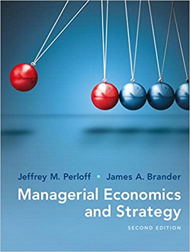 Managerial Economics And Strategy 2nd Edition The Pearson