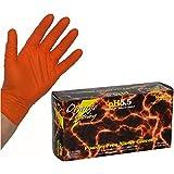 『オレンジライトニング』 高機能ニトリルグローブ XLサイズ 1箱(50組入)