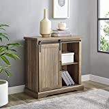 WE Furniture AZF32ALGRDRO Buffet, 32'', Rustic Oak