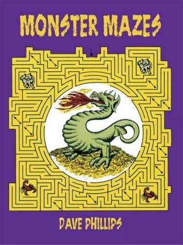 Monster Mazes (Dover Children's Activity Books)