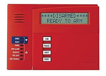 Honeywell Ademco 6160CR-2 Commercial Fire Alpha Keypad