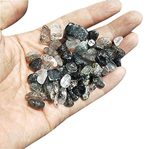 Big Natural Rose Quartz Gravel Rock Crystal Quartz Raw Gemstone Mineral Specimen Fish Tank Garden Decora Pieces Irregular Shaped Stones 1pound(About 460 Gram) (hairstone) ()