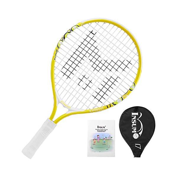ערכת טניס לילדים מתחילים של חברת Insum Premier Youth Tennis