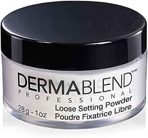 Dermablend Loose Setting Powder for up to 16-Hours of Makeup Coverage, Original, Translucent Powder, 1 Oz.