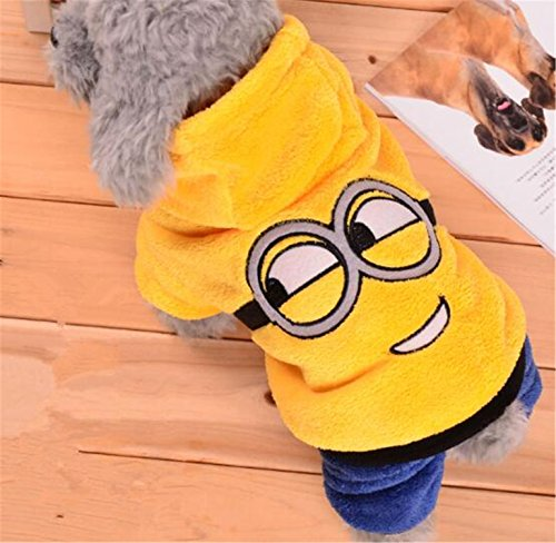Costumes Rentals Nyc (spyman Fashion Womens Clothes Warm Fleece Costume Soft Puppy Coat Outfit For Womens Clothes For Small Womenss Winter Clothing Hoodie 39S1 Yellow XS)