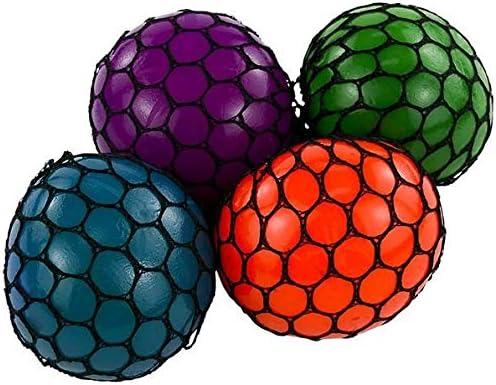 Amazon.com: Rhode Island Novelty 3 Inch Mesh Squishy Balls, Pack of 12:  Toys & Games