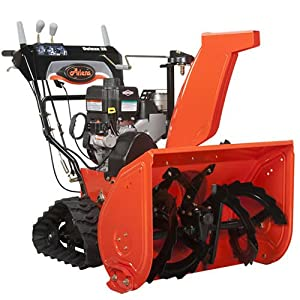 B0040IVMHS_Ariens 921023 Deluxe Track 28 250cc 28-in Two-Stage Snow Thrower with Electric Start