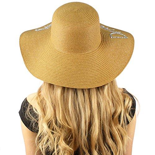 Do not Disturb Bling Bling Floppy Bucket Summer Derby Beach Pool Sun Hat Toast