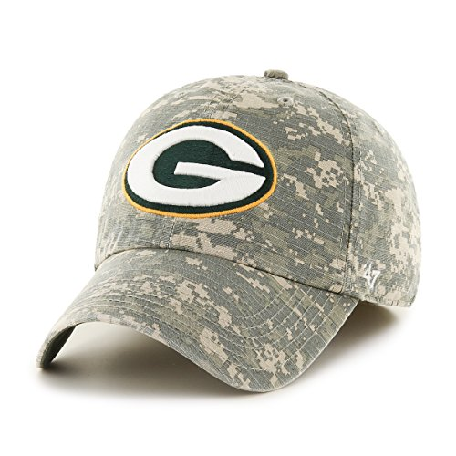 s Officer Franchise Fitted Hat, Medium, Digital Camo (Franchise Green)