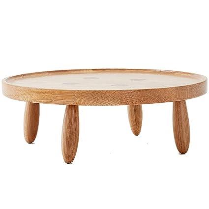 Mini Tavolo Rotondo in Legno può Essere Usato Come Un ...