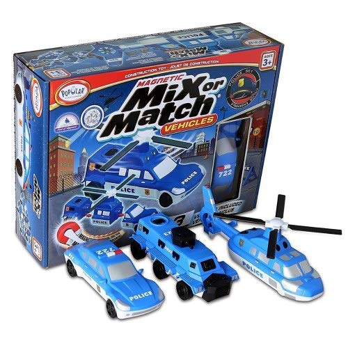 Popular Playthings Mix Or Match Vehicles Police Vehicles ... -