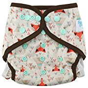HappyEndingsTM One Size Cloth Diaper Cover AI2 System  Tribal Fox
