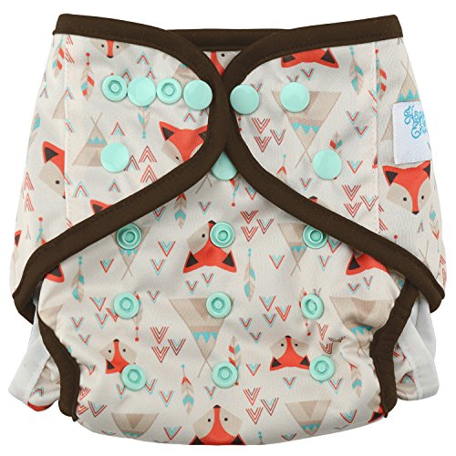 - HappyEndingsTM One Size Cloth Diaper Cover AI2 System