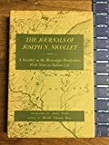 img - for The Journals of Joseph N. Nicollet: A Scientist on the Mississippi Headwaters With Notes on Indian Life, 1836-37 book / textbook / text book