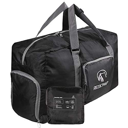 REDCAMP Foldable Small Duffle Bag with Shoe Compartment, 45L/22