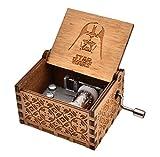 REINDEAR Star Wars Theme Wooden Music Box (Wood)