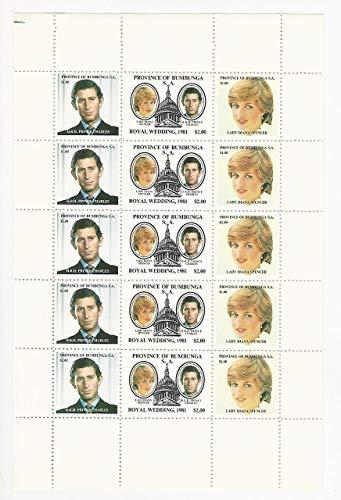 Australia, Postage Stamp, Local Post Bumbunga, 1981 Princess Diana Sheet, JFZ