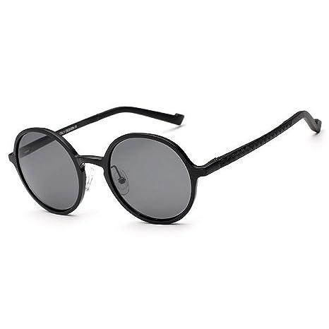 Retro Gafas de sol de los hombres del estilo retro marco de aluminio y magnesio lente