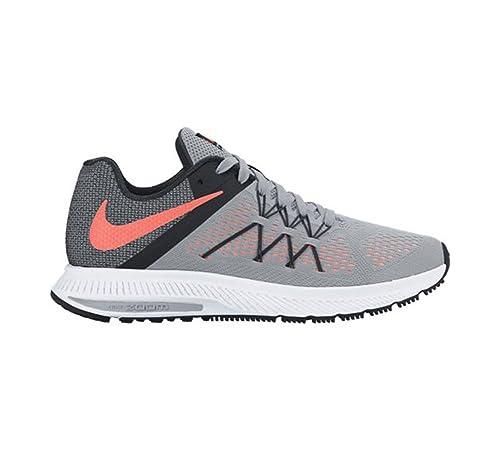 Nike 831562-008, Zapatillas de Trail Running para Mujer, Gris (Wolf Grey/Bright Mango/Black/White), 35.5 EU: Amazon.es: Zapatos y complementos