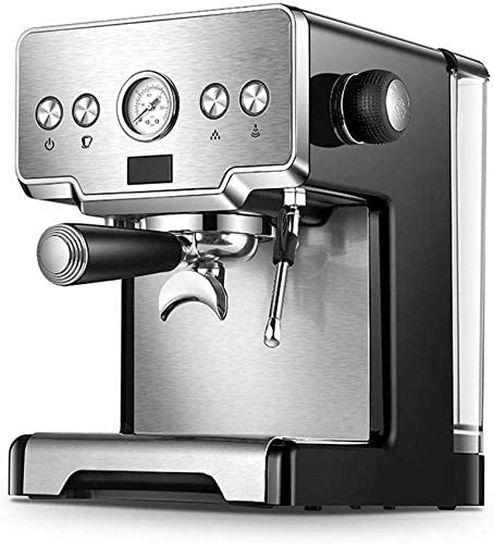 CHNFF Práctico Cafetera Italiana Inicio Vapor Bomba semiautomática Gris Claro: Amazon.es: Hogar