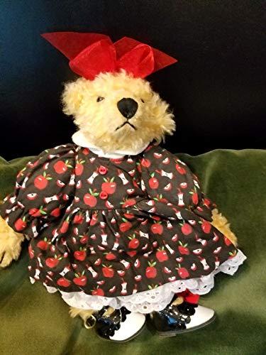 1995 Ashton Drake Gallery Teddy Bear Addie's ABC School Dressed Bear ()