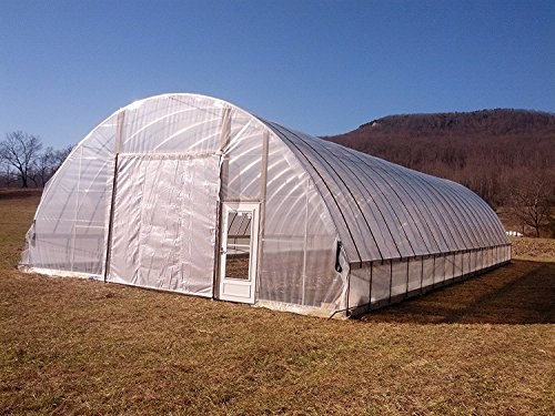 Sunview Greenhouse Clear Plastic Film Polyethylene Covering Gt4 Year 6 Mil (12' wide x 25' long) by Sunview (Image #3)