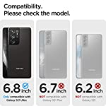 Spigen Ultra Hybrid Back Cover Case Compatible with Samsung Galaxy S21 Ultra – Crystal Clear