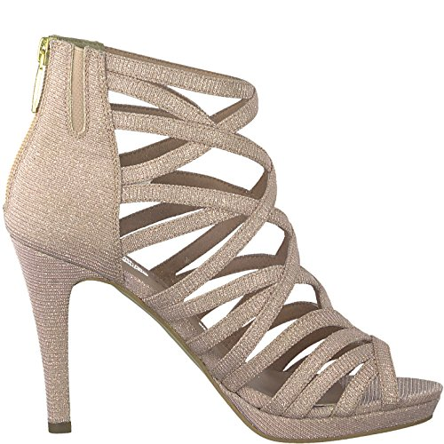 Tamaris 1-1-28014-20 Sandalo Da Donna, Sandalo, Scarpe Estive Per La Donna Fashion Cosciente Rosa Glam