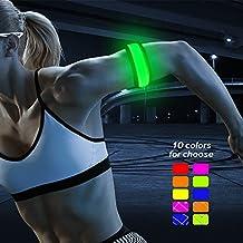 BSeen (TM), LED Slap Band, Glow bracelet, armband Glow in the dark (yellow/green)