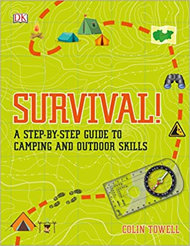 Book's Cover of Survival!: A Step-By-Step Guide to Camping and Outdoor Skills (Inglés) Tapa blanda – Ilustrado, 21 mayo 2019