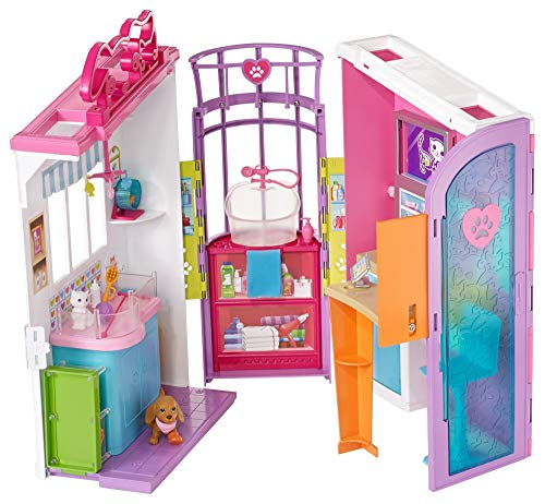 B Barbie Laptop (Barbie Pet Care Center Playset)