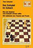 img - for Das Endspiel Im Schach book / textbook / text book
