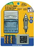 Digital Concepts AC/DC Rapid Charger with 4 AA Rechargeable 1800 MAH NIMH Batteries
