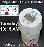 Pill-Timer-Easy-to-Set-Automatically-records-LAST-OPENED-Day-and-Time-indicator-Up-to-24-Auto-Repeating-Daily-Alarms-Popular-e-pill-TimeCap-fits-on-Pill-Bottle-included