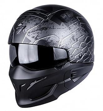 SCORPION Exo Combat ratnik plata casco de moto