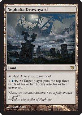Amazon.com: Magic: the Gathering - Nephalia Drownyard ...