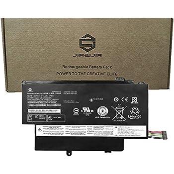 JIAZIJIA 45N1706 Laptop Battery Replacement for Lenovo ThinkPad S1 Yoga 12 Series Notebook 45N1707 45N1704 45N1705 Black 14.8V 47Wh 3180mAh