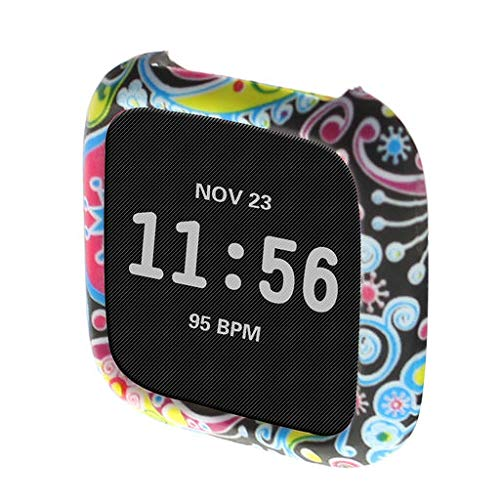 Lyperkin Silicone Cover Case,Compatible with Fitbit Versa,360 Degree Proctective Silicone Cover Case Watch Casing Guard Protector,Compatible with Fitbit Versa.(Multi Color Choice) -